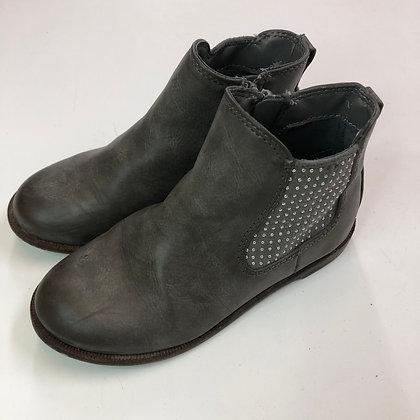 Boots - Silver stud detail - Shoe size 12 (jr)