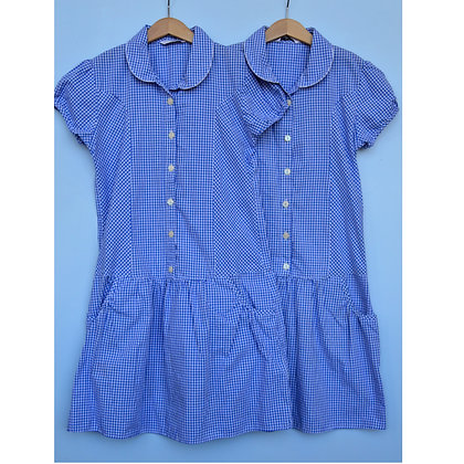 Summer Dress - Blue - Age 11