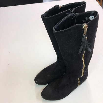 Boots -Black knee high - Shoe size 1