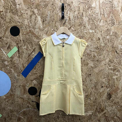 Summer Dress - Yellow with zip