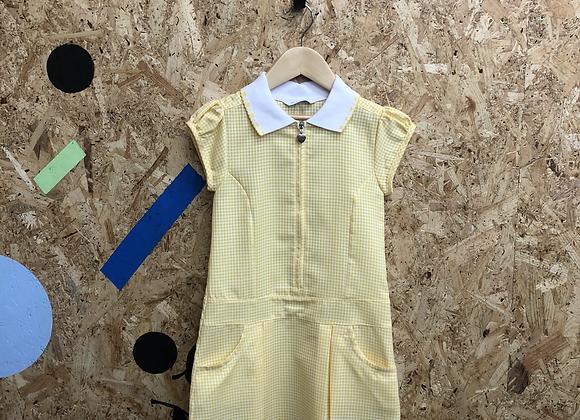 Summer Dress - Yellow with zip