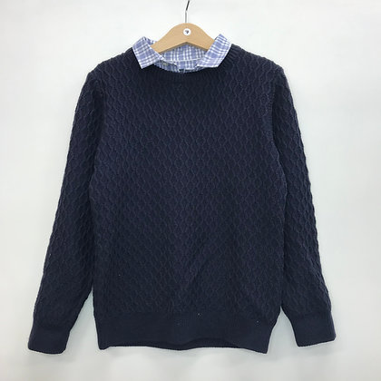 Jumper - Shirt Collar - Age 7