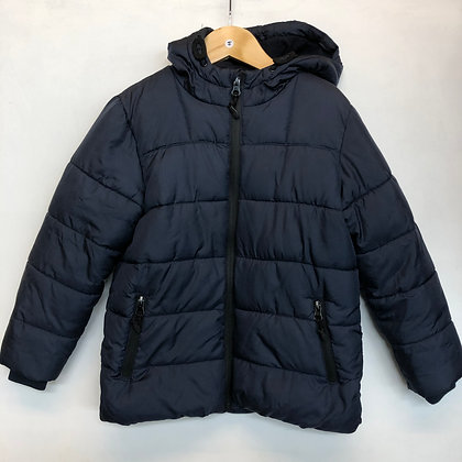 Jacket - Navy puffer - Age 5