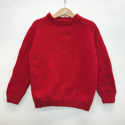 Jumper - Red - Age 4