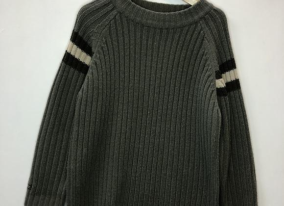 Jumper - Khaki knit - Age 6