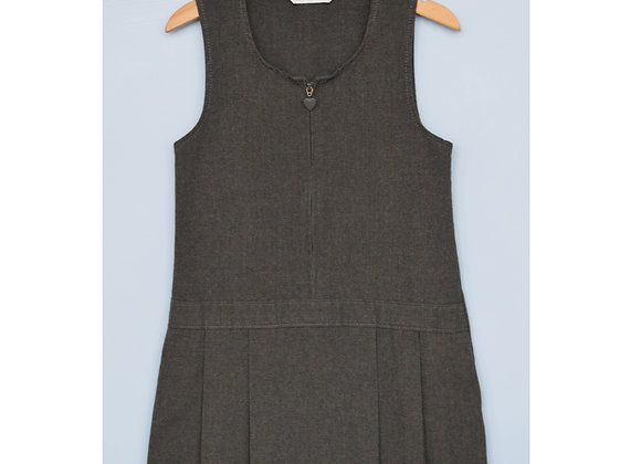 Pinafore - Grey with heart (M&S)