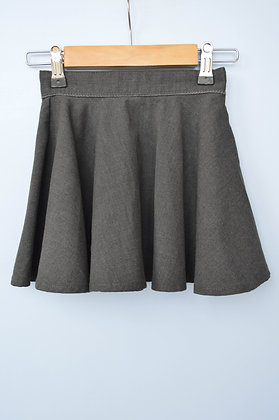 Skirt - Uniform - Grey, full circle