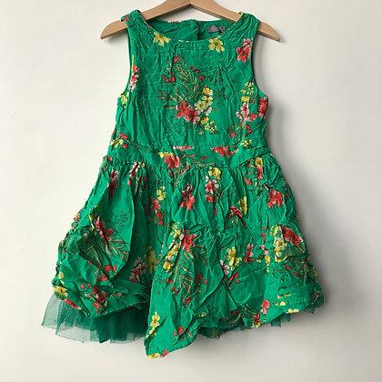 Dress - Green - Age 7