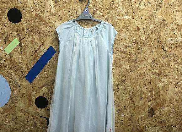 Dress - Light blue tulle - Age 7