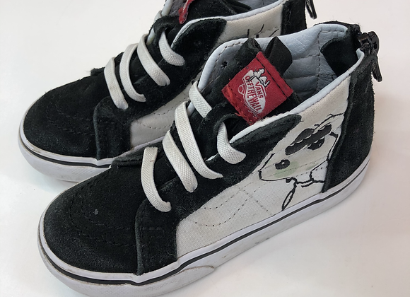 Trainers - Vans (Snoopy) - Shoe Size 8