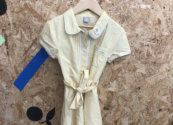 Summer Dress - Yellow with buttons