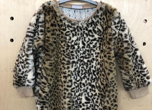 Jumper - Faux Fur - Age 4