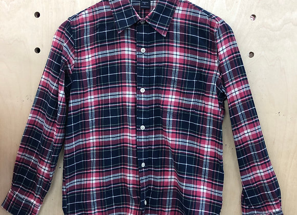 Shirt - Plaid Red and Black - Age 12