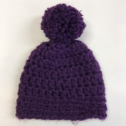 Bobble Hat - Chunky Crochet