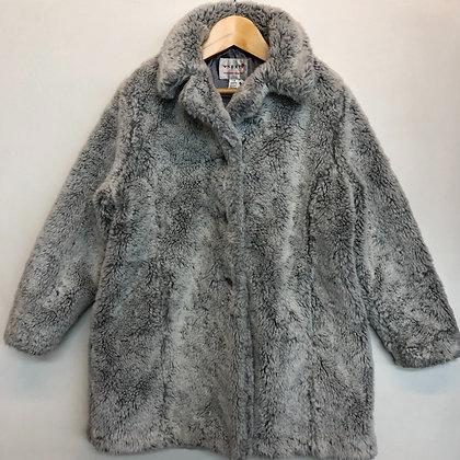 Jacket -  Next fake fur - Age 7
