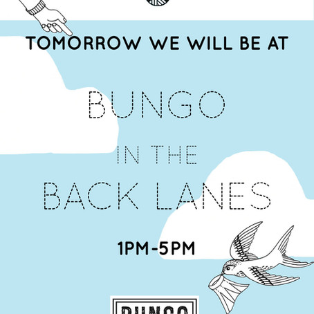 Bungo in the Back Lanes