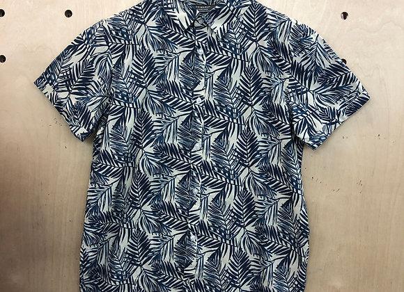 Shirt - Fern Pattern Black White - Age 13