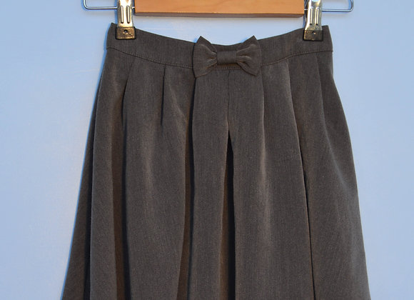 Skirt - Grey with bow (George)