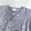 Thumbnail: Cardigan - Grey with Daisies - Age 4