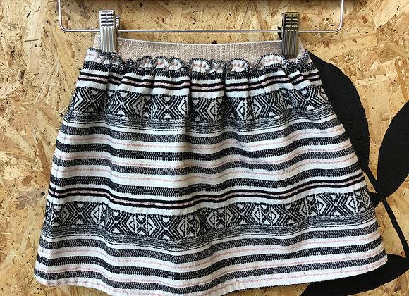 Skirt - Stripy cotton - Age 5