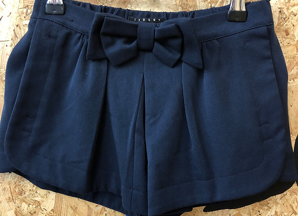 Shorts - Blue with bow - Age 7