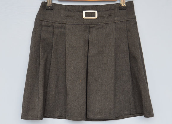 Skirt - Grey with buckle (M&S)