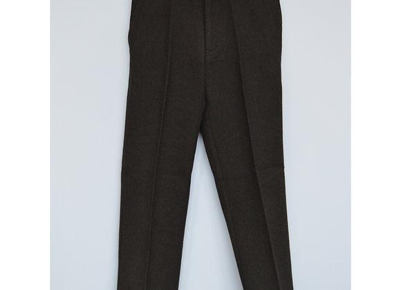 Trousers - Dark grey, elasticated waist (George)
