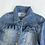 Thumbnail: Jacket - Denim With Frill - Age 6