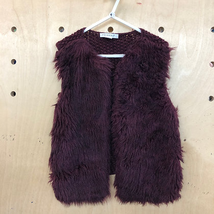 Body Warmer - Faux Fur - Age 4