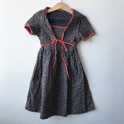 Dress - Floral Pattern - Age 4