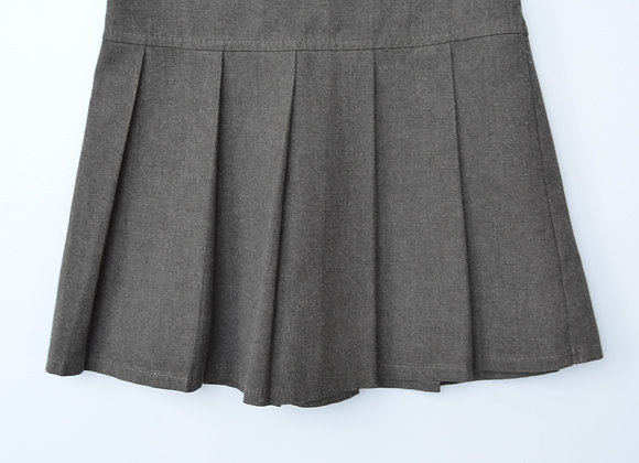 Skirt - Grey with low pleats (M&S)