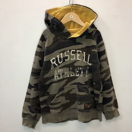 Hoody - Green camouflage - Age 8