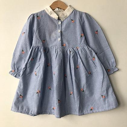 Dress - Floral Details - Age 2