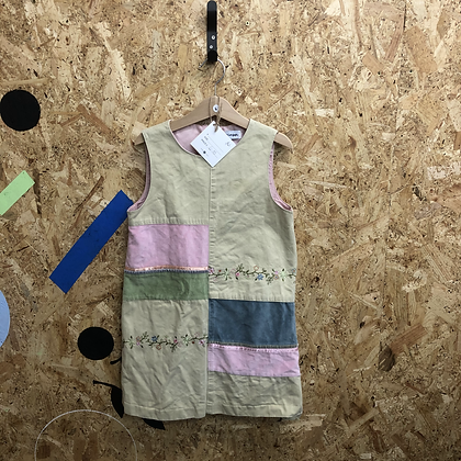 Dress - Patch work cotton - Age 6