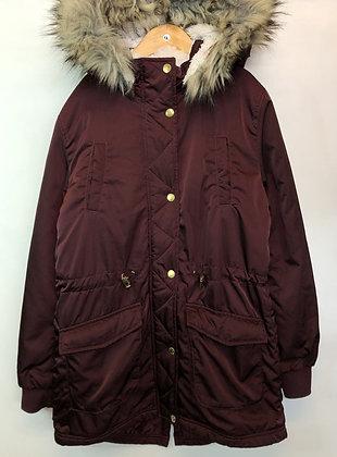 Jacket - Parka, Fleece Lined - Age 12