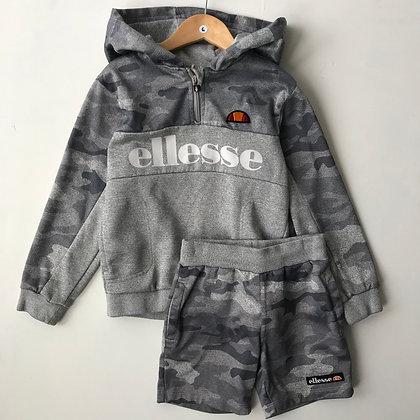 Hoodie & Shorts - Ellesse - Age 6