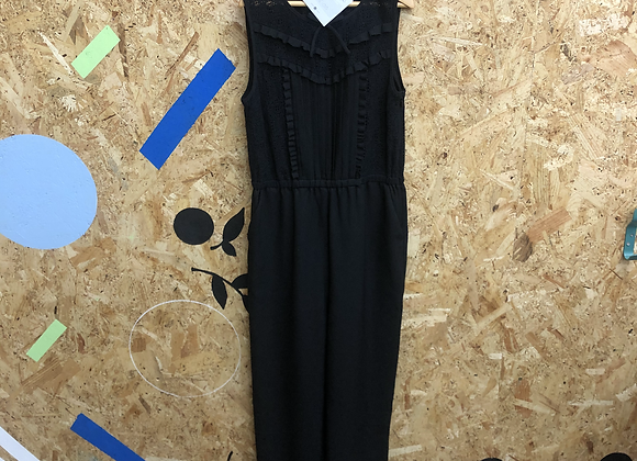Jumpsuit - Black Sleeveless Age 8