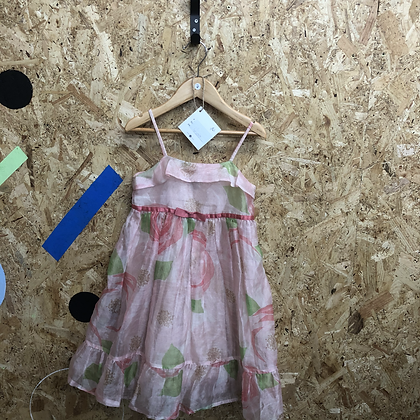 Dress -Floral tulle - Age 5