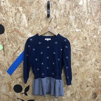 Dress -Stars & stripes - Age 5