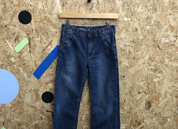 Blue Denim Jeans with Fading Age 8