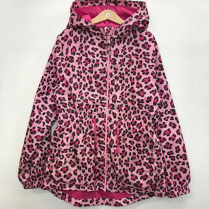 Jacket - Pink Animal Print - Age 10