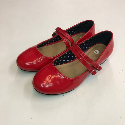 Pumps - Red double strap  - Shoe size 2