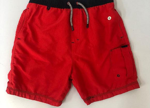 Boys Red Swim Trunks Age 11
