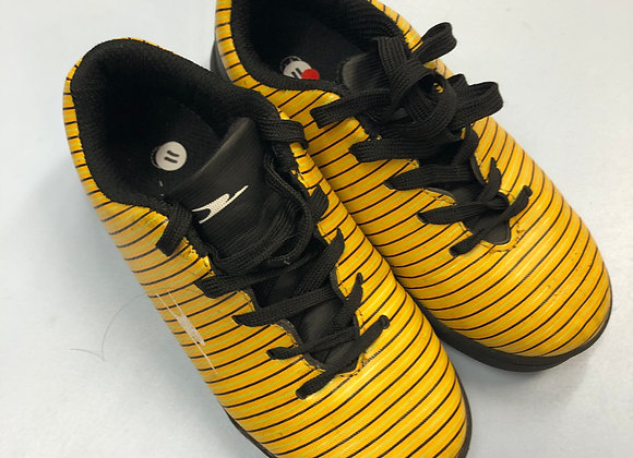 Football trainers - Yellow -Size 11 (jr)
