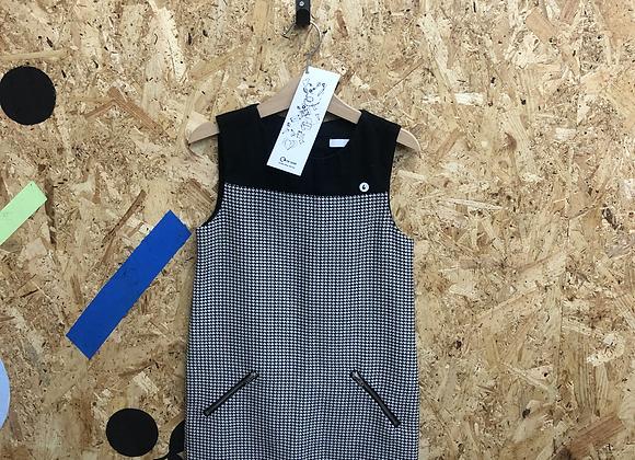 Dress- Age 6-Black & White