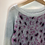 Thumbnail: Jumper - Mohair with leopard print - Age 9