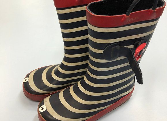 Wellies - Stripy - Shoe size 10 (jr)