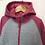 Thumbnail: Fleece - Grey with hood - Age 7