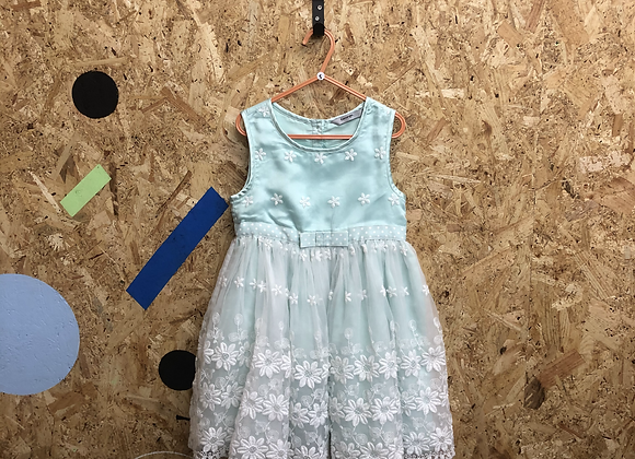 Dress -Mint green tulle - Age 5