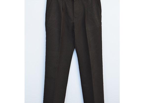 Trousers - F&F Black Elasticated (tb3)